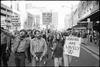 Gay and lesbian rights march, George St, Sydney, 15 July 1978, photo © Geoff Friend