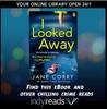 I looked away book cover with indyreads promotion