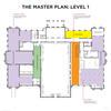 Mitchell Building Master Plan Floorplan Map Level 1