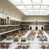 Mitchell Reading Room with new glass panel