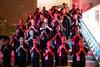 Children's choir singing
