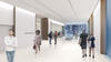Artist's impression of circulation galleries, level one. Source: Hassell