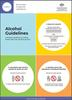 Infographic showing the three alcohol guidelines in words and images