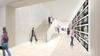 Artist impression of ground floor circulation galleries