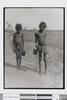 2 kids looking at the camera