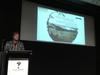 Damien Webb presenting at Digital collecting seminar