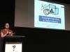 Jessica Coates presenting on copyright