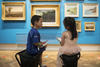 Children in the paintings gallery
