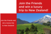 new zealand landscape with text