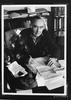 Portrait of Australian writer Douglas Stewart by Michael Elton, c 1970s