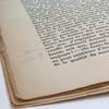 Notes in book Albertine disparue
