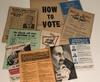 Various election ephemera