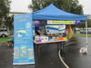 Library display at Dash with Splash in Kempsey