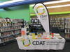 CDAT stall in a public library