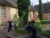 Library garden at Gordon