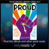 proud purple rainbow fist LGBTQI book cover