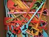 Literary mocktails swizzle sticks