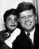 A photo booth portrait, possibly taken during the Kennedy's honeymoon travels.