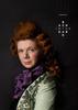 Rachel Scott dressed as Bach
