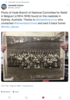 A tweet from Tameside Culture about a photograph found in Sydney