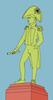 Bungaree imagined, illustration by Matthew P Burgess