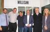 Ben Hartley, Geoff Potter, Laura Tierney, Michael Milligan, Dr. John Vallance and Mayor Jane Smith