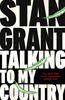 Book cover for Talking To My Country by Stan Grant