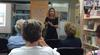 Author Tanya Evans gives a talk at Singleton Library