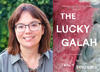 Tracy Sorensen and her book cover The Lucky Galah