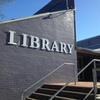 Public library external sign