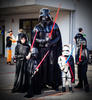 The Darth Family - Cosplay competition winners at Comic Gong 2017