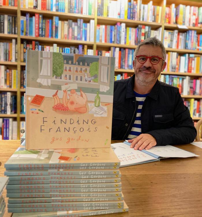 Author illustrator Gus Gordon