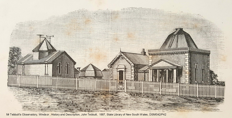 John Tebbutt Observatory, Windsor, 1887