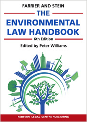 Cover for The environmental law handbook planning and land use in NSW. 6th ed