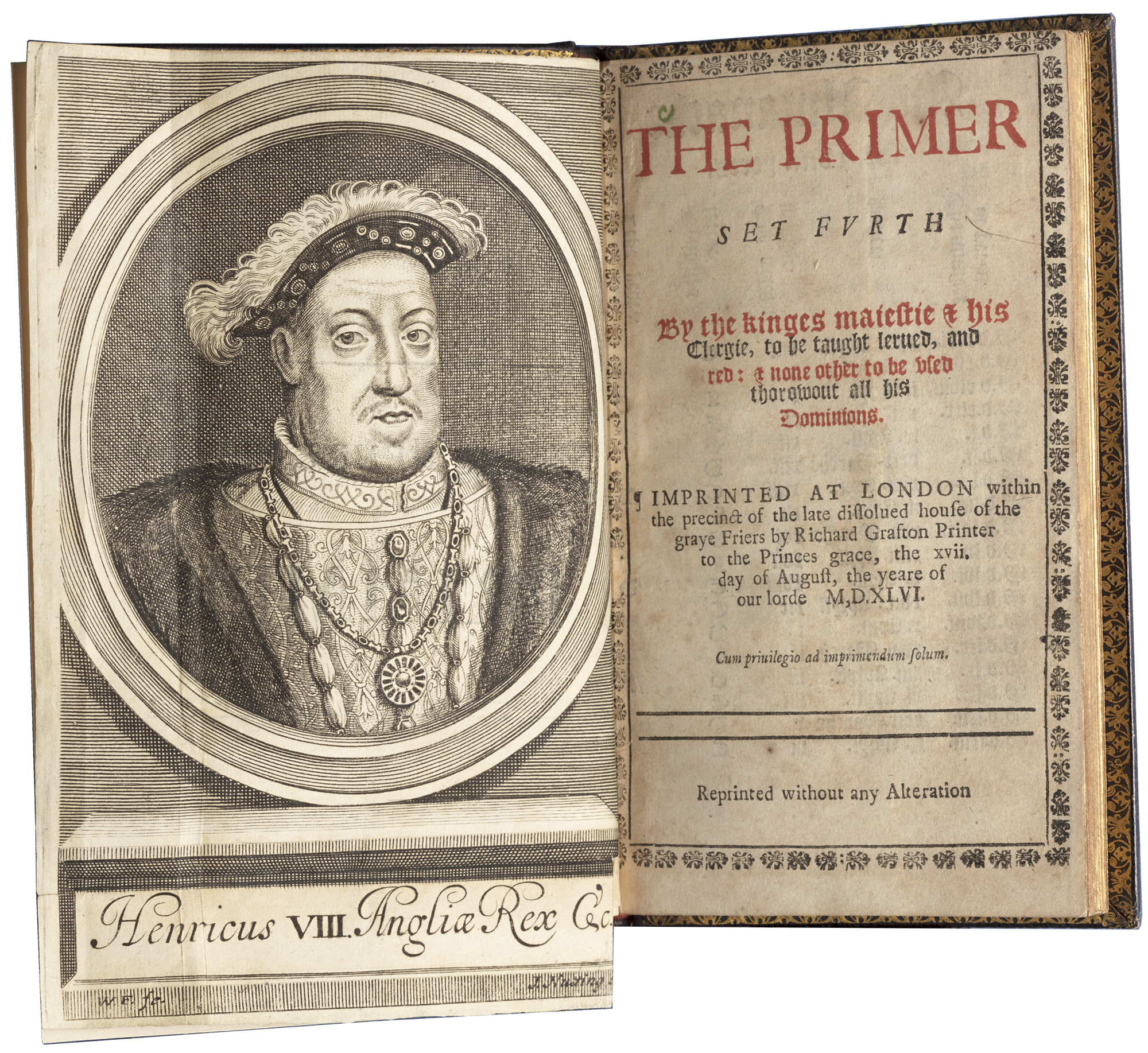 The primer set furth by the kinges maiestie & his Clergie ... 1546 (1710 reprint)