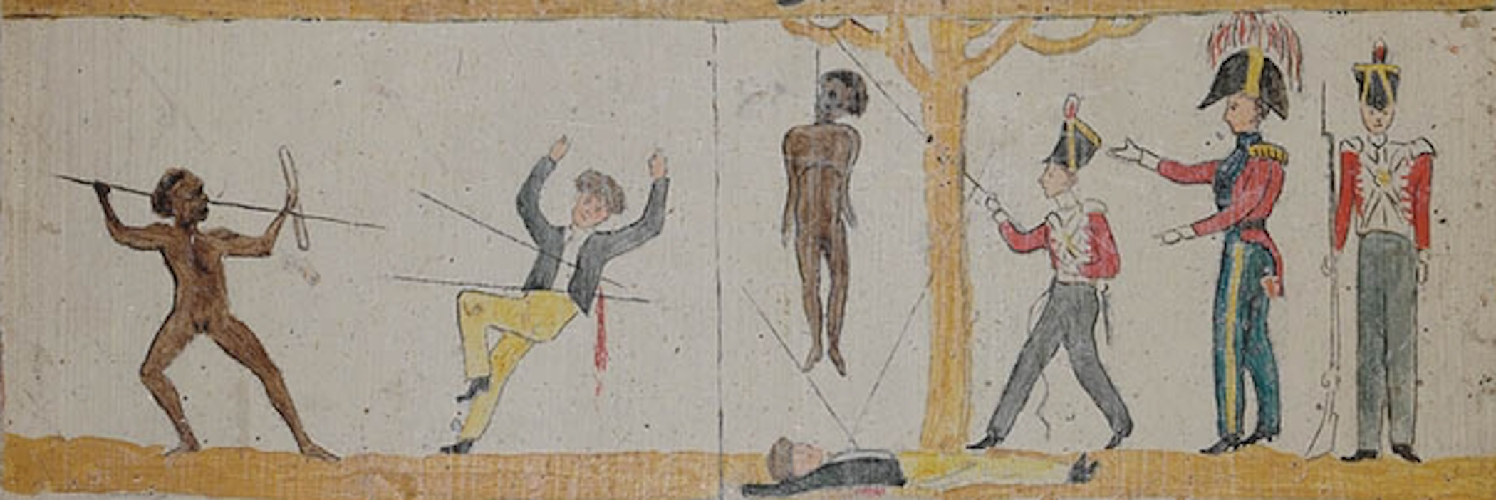 Image of the third section of Second section of Governor Arthur's Proclamation to the Aborigines
