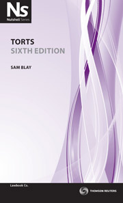 Cover for Torts 6th Ed