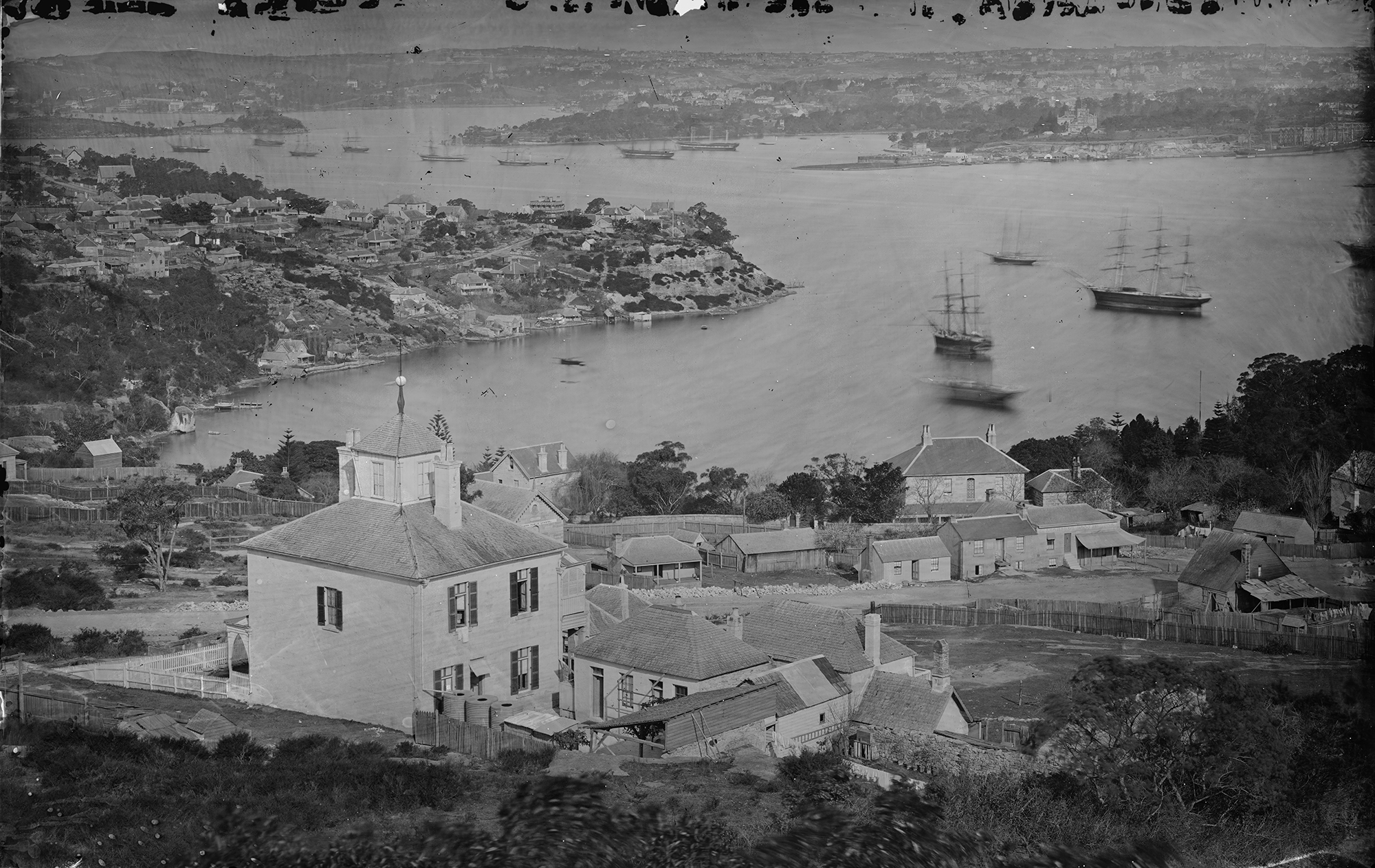 Restored panorama of Sydney from the Holtermann collection.