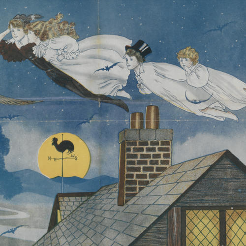 Peter Pan, poster detail