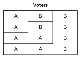 Voting example image