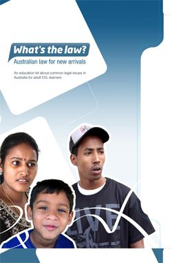 Cover for What's the law Australian law for new arrivals (DVD)